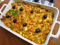 Cocinando para ellos : BACALAO GRATINADO Vegetable Pizza, Macaroni And Cheese, Food To Make, Seafood, Food And Drink, Fish, Ethnic Recipes, December, Gratin