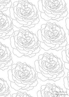 Färben Antistress-Print, meditative Färbung, Anti-Stress für Berufstätige