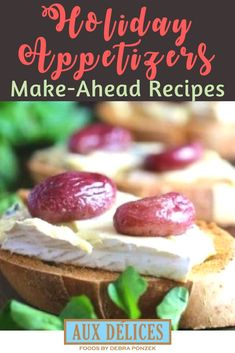 Make-ahead appetizer