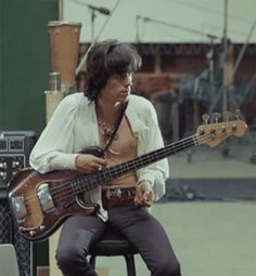 What's your favorite Stone's track featuring Keith on bass? Rolling Stones Keith Richards, Brylcreem, Anita Pallenberg, Sympathy For The Devil, Ron Woods, Bass, Like A Rolling Stone, Charlie Watts, British Rock