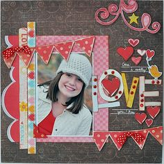 Mothers day- I really love you! - Scrapbook.com