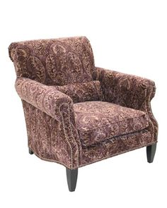 Paisley Merlot Chair by Old Hickory Tannery at Horchow.