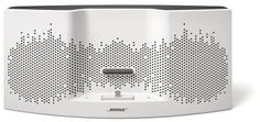 Bose SoundDock XT Speaker: With fresh style and the full-spectrum sound Bose is known for, the SoundDock XT speaker even charges your iPhone or iPod through its Lightning dock.