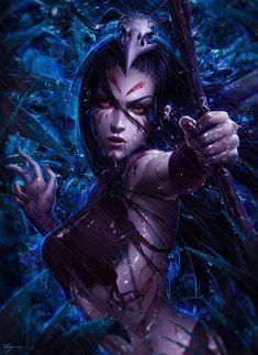 "darkbeautyss: ""The Wild Hunt by Zarory """