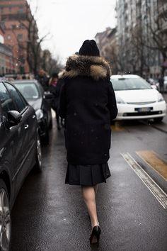 At Fendi, Milan « The Sartorialist Feb 2013
