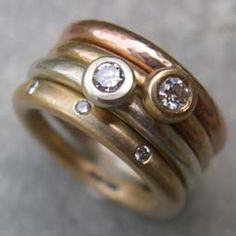 Engagement rings in gold with diamonds  http://www.silverandstone.co.uk/html/handmade_engagement_rings.html#.UQVfZGchB8E