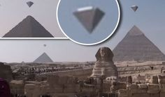 UFOS OVER PYRAMIDS: Crystal clear footage of bizarre objects at Giza in Egypt goes viral | Weird | News | Express.co.uk