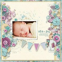 """TELL ME A STORY - """"Once upon a time there were four little rabbits, and their names were —Flopsy, Mopsy, Cottontail, and Peter."""" -Beatrix Potter KYLE - 2013  Template: Mix It Up #6 by Heartstrings Scrap Art  https://www.digitalscrapbookingstudio.com/digital-art/templates/mix-it-up-6/ Kit: Pajama Party by Vero - The French Touch https://www.digitalscrapbookingstudio.com/digital-art/bundled-deals/vero-pajama-party-mega-collection/"""