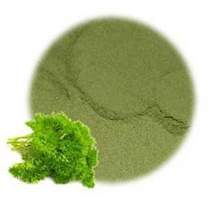 Parsley Leaf Powder; Parsley is thought to prevent shedding and strengthen the hair