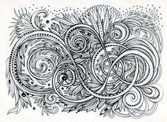 artist Irina Vinnik  #doodle
