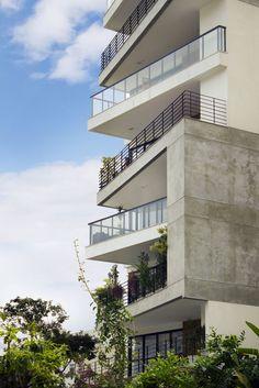 Fachada edificio pesquisa google aleat rio pinterest - Fachadas edificios modernos ...