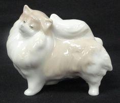 LLADRO 8338 POMERANIAN Dog Porcelain Figurine MINT CONDITION (4730)