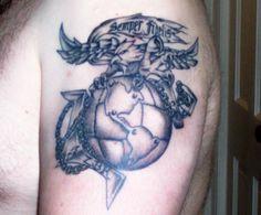 Eagle Globe And Anchor Tattoo Ideas Tattoos Pinterest Anchor Tattoos Tattoo And Marine Tattoo
