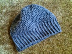 Slouchy Hat by CuddleinCrochet on Etsy, $24.00