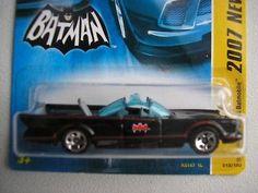 1966 TV Series Batmobile / New 2007 Batman/ 5 hole wheels, 15 of 36 Hot Wheels: $1.90 (0 Bids) End Date: Monday Apr-16-2018 15:15:26 PDT…