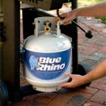 """STORING PROPANE TANKS….. -Posted by: Rourke   on January 28, 2014   """"Where do you store your propane tanks?"""""""