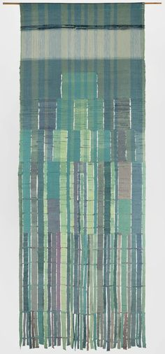 Sheila Hicks; Cotton and Bamboo 'Ribbons', c1964.