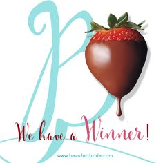 CONGRATULATIONS Whitney Cowins…you are today's winner of a dozen chocolate covered strawberries from Lazy Susan's Cafe & Creperie & Beaufort Bride! Call Lazy Susan's to arrange for pickup at (843) 466-0735.  We are doing another giveaway this week so be ready!
