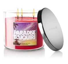 """Bath and Body Works Candle - Paradise Daiquiri """"I love the smell of this raspberry candle""""  #COLOROFSUMMER"""