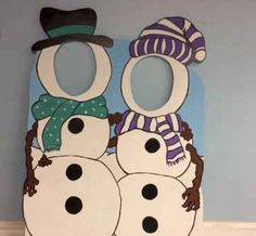 Winter Wonderland Photo Booth Prop (foam board)- Snowman Duo Face in Hole Photo Op Stand in, personalized Christmas Sign, Outdoor Decoration Snowman cutout for two! This is hand painted on foam board. Great photo op for holiday parties! Office Christmas, Christmas Signs, Christmas Photos, Kids Christmas, Christmas Crafts, Christmas Snowman, Minimal Christmas, Etsy Christmas, Scandinavian Christmas