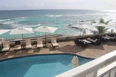 Great view from the SoCo Hotel #barbados #ocean #hotel