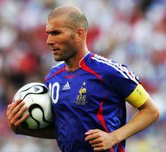 Zidane, Seleção Francesa