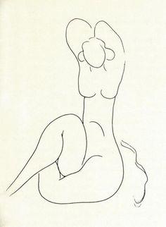 "Henri Matisse, from ""Mallarme"" (1932)"