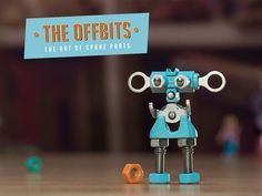 The Offbit - The art of Spare Parts. check us https://www.kickstarter.com/projects/theoffbits/the-offbits-the-art-of-spare-parts  #TheOffBits #Robots #Kickstarter #pledge #cool #toys #makers #diy #instageek #geekystuff #geeks #fun #SpareParts #toycommunity #collection #awesome #creative #designertoys #toys4life #toycommunity #toycollecting