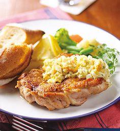 鶏もも肉のスパイス焼きヨーグルトのタルタルソース