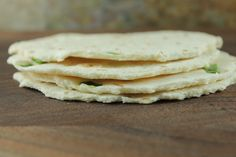 Cauliflower Tortillas Recipe--Made with just a few ingredients, there are no grains, few carbs, and no unhealthy additives.  #cauliflower #tortillas #recipe