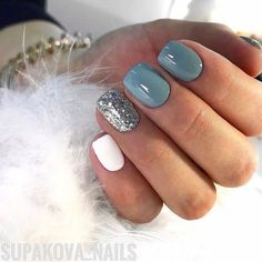 There are three kinds of fake nails which all come from the family of plastics. Acrylic nails are a liquid and powder mix. They are mixed in front of you and then they are brushed onto your nails and shaped. These nails are air dried. Cute Nail Colors, Winter Nails Colors 2019, Nailed It, Bridal Nail Art, Nails 2018, Nail Tattoo, Winter Nail Designs, Fall Nail Ideas Gel, Dipped Nails