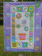 Khloe's cot quilt
