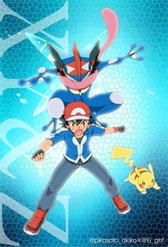 Image result for pokemon xy and z ash greninja