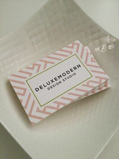- New Deluxemodern Business Cards - #business #cards #Identity #Branding #Personal #Idea #Inspiration