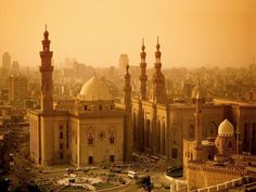 Cairo, Eygpt. When I see this I think of the smell of spices and crowded street markets, or the souk.