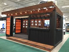 Shipping Container Homes & Buildings: Transportable Shipping Container Bar Backyard Bar, Patio Bar, Container Coffee Shop, Bbq Shed, Container Restaurant, Shipping Container Homes, Shipping Containers, Prefabricated Houses, The Ranch