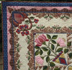 Esther Aliu's Blog: Hearts Desire: Quilting Finished.