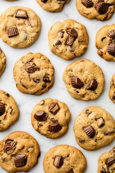 Reese's Chip Cookies  - Delish.com
