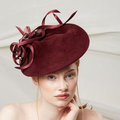 b37b0c398407f CAMELLIA -- Stylised riding hat with silk rose and buntal trim -- Jane  Taylor London