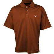 Colony Sportswear Texas Longhorns Burnt Orange Double Mercerized Polo #Fanatics
