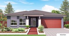 Fairlight 20 - Provincial Homes - New Home Designs - Display Homes - House and Land - Granny Flats - Sydney Storey Homes, Town House, Outdoor Living, Outdoor Decor, South Wales, Facades, Ideal Home, Mafia, House Plans