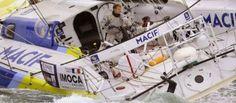 Vendée Globe: Gabart, nouveau recordman de distance parcourue en 24h
