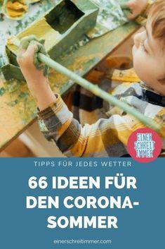 Du brauchst Bastelideen und DIY-Tipps für deine Kita und Kindergartenkinder im Corona-Sommer? Diese Dinge machen deinen Kindern Spaß und fördern die Motorik.   #einerschreitimmer #mamablog #corona #kindergarten #diy #kita #basteln
