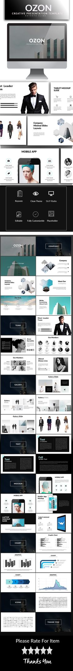 Xpray Professional Google Slide Template Keynote, Template and - keynote template