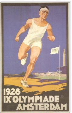 IX Olimpiada en Amsterdam - 1928.   (lbk)
