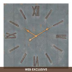 Brussels Wood Clock