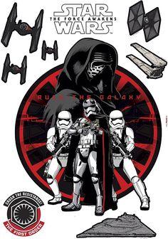 Wandsticker, Komar, »Star Wars Frist Order«, 50/70 cm Jetzt bestellen unter: https://moebel.ladendirekt.de/dekoration/wandtattoos/wandtattoos/?uid=2f3b093b-ade8-5e87-9a0e-a687257a100a&utm_source=pinterest&utm_medium=pin&utm_campaign=boards #dekorfolien #tattoos #dekoration