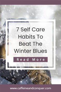 How to create lasting habits to improve your energy and motivation during the cold winter months. Learn the difference between the common winter blues and something more serious called Seasonal Affective Disorder, then take away some of my tips to live a healthier, happier lifestyle when we struggle with it the most #energy #motivation #wellbeing Love Your Body Quotes, Low Mood, Mental Health Support, Body Hacks, Anxiety Help, Cozy Winter, Self Care Routine, Winter Months, Growth Mindset