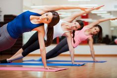 Both Yoga and Pilates improve strength, increase flexibility and reduce stress. So we've listed 10 differences between Yoga and Pilates. Yoga Fitness, Fitness Video, Health Fitness, Fitness Classes, Yoga Classes, Fitness Quotes, Aerobic Fitness, Fitness Motivation, Women's Health