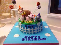 Hay Day birthday cake